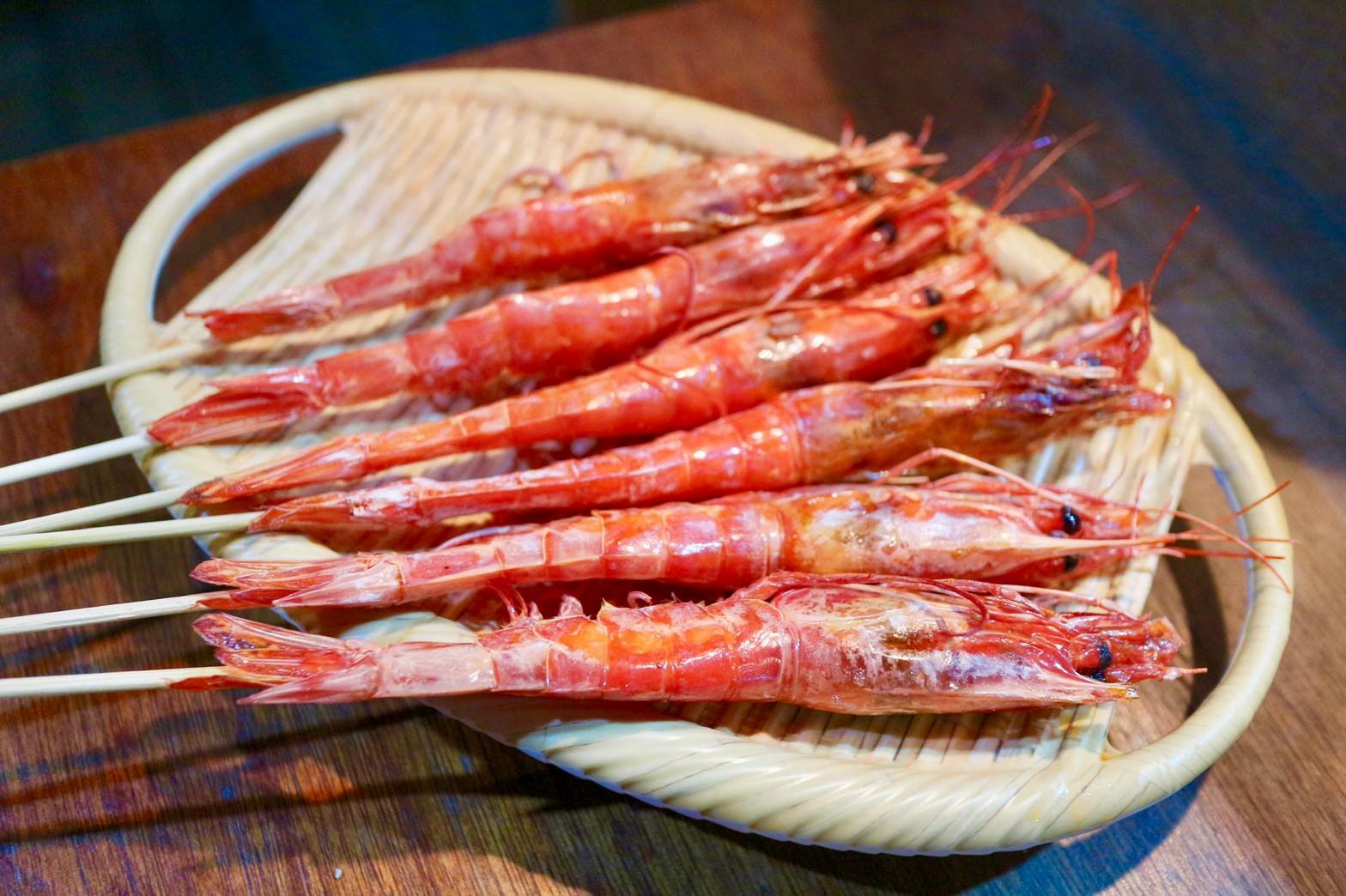 鹽烤胭脂蝦