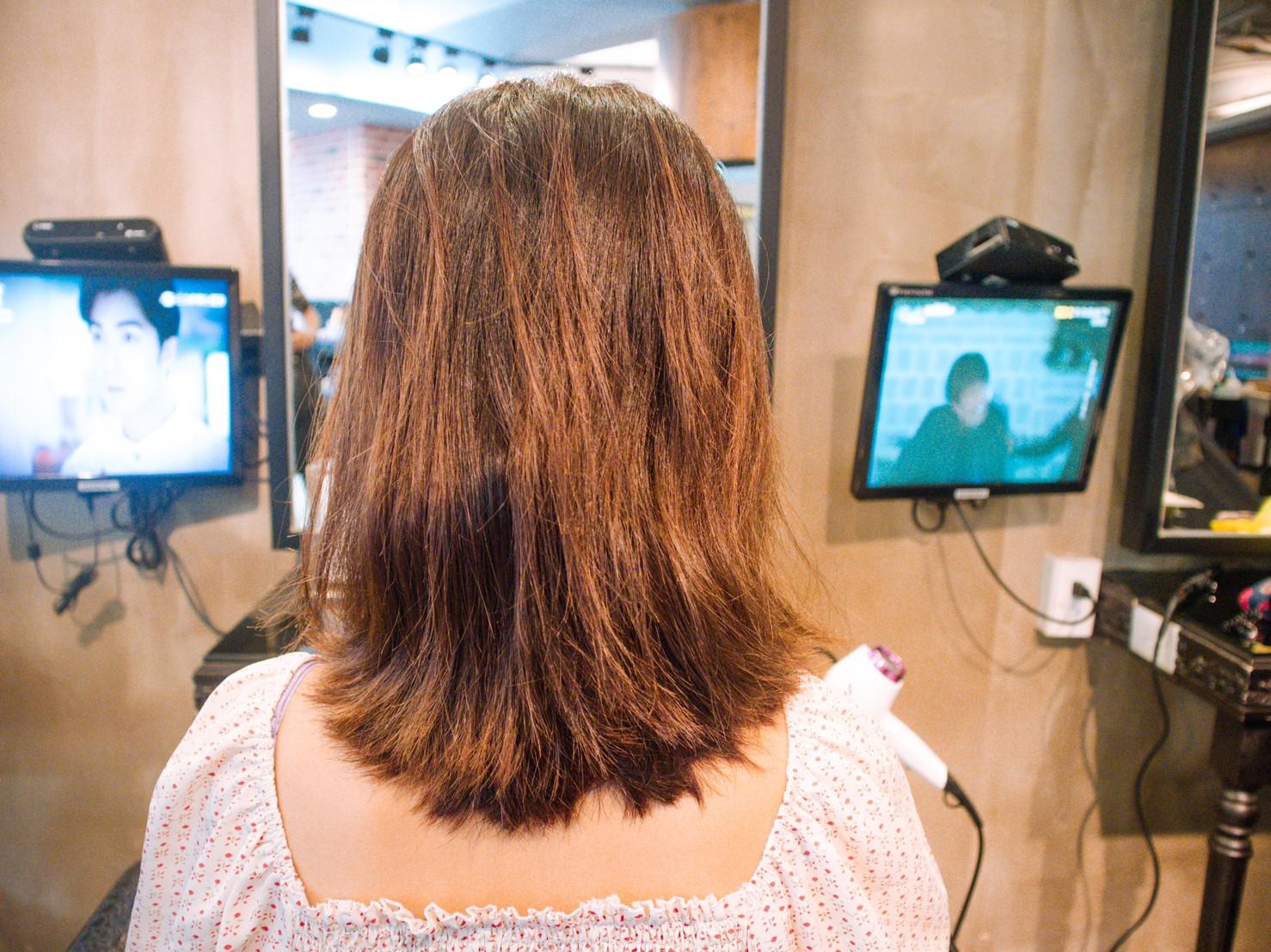 護髮前髮況-台中護髮推薦HairCity