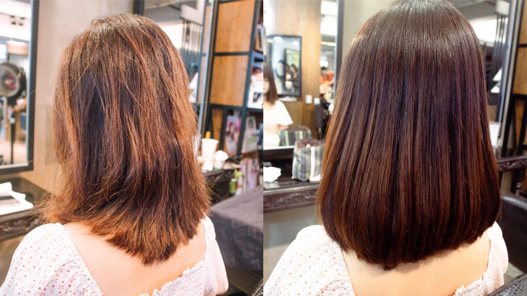 HairCity護髮後成果-台中護髮推薦