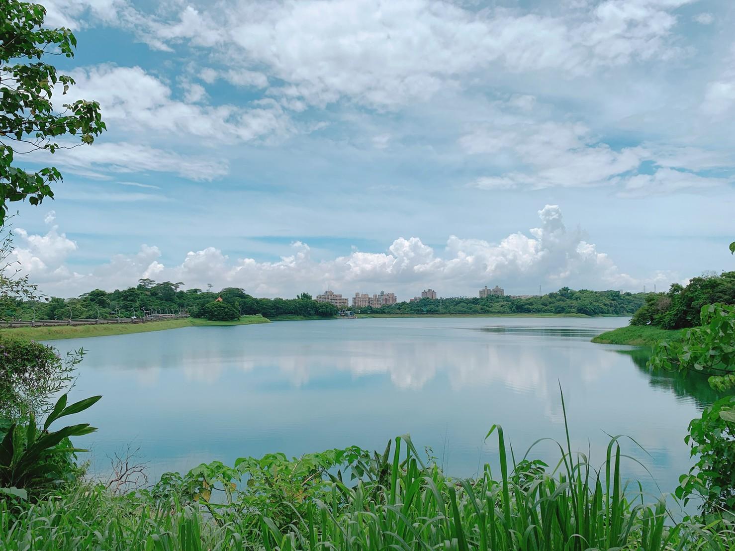 嘉義蘭潭水庫美景