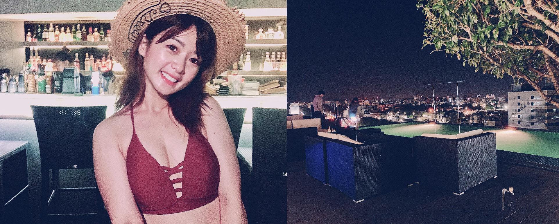嘉義景點-超美無邊際泳池飯店酒吧!承億文旅桃城茶樣子,低消500元來拍美照囉!